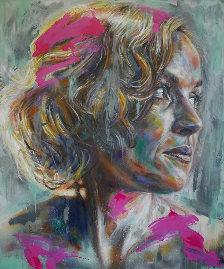 Becky by David WALKER 2017 at mathgoth gallery in paris