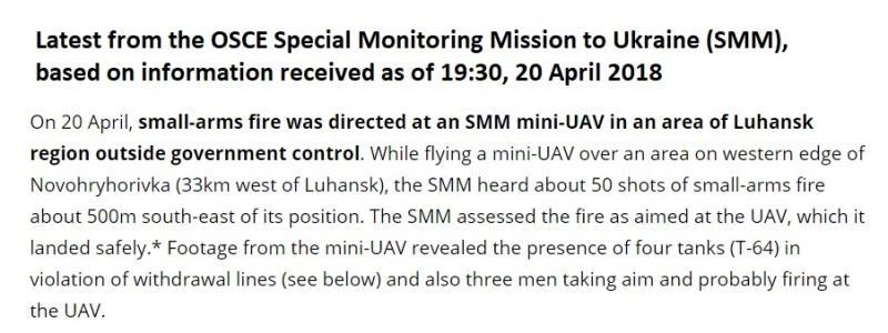 OSCE drone