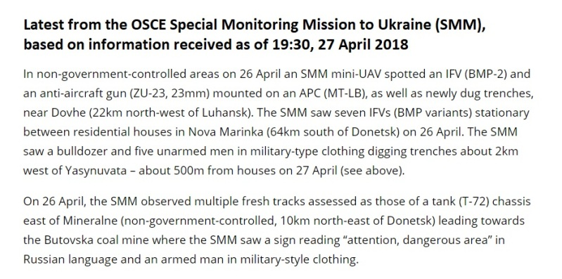 OSCE new info