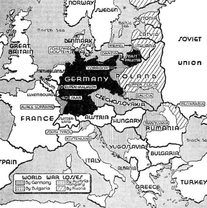 World War losses